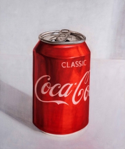 Classic Coca Co, 2018. Acryl auf Leinwand. 110 x 92 cm. Foto: Phillip Hiersemann